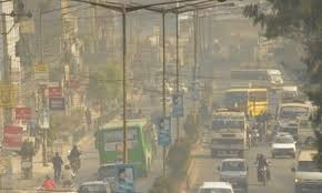 Pollution in streets